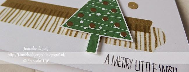Stampin' Up! – Kerst workshop dag …