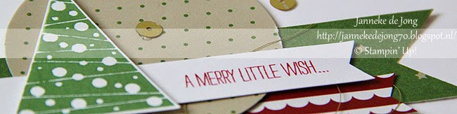 Stampin' Up! – A Merry little wish …