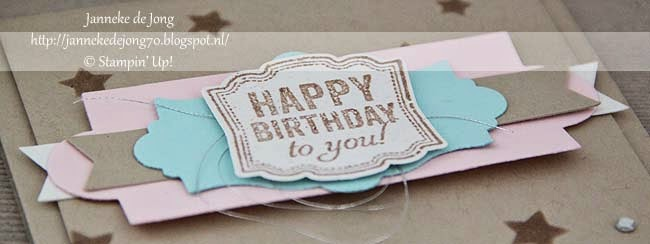Stampin' Up! – Happy birthday to you
