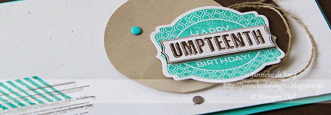 Stampin' Up! Happy Umpteenth Birthday