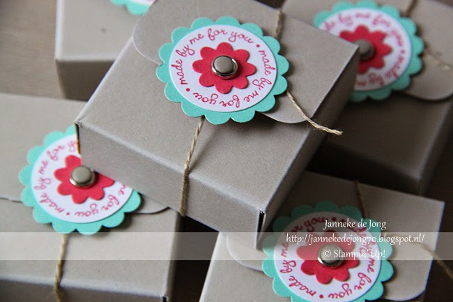 Stampin' Up! – Made by me for you