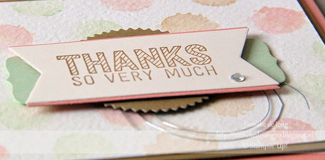Stampin' Up! – Thanks so very much