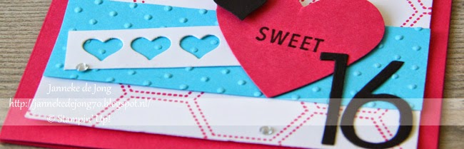Stampin' Up! – Sweet 16