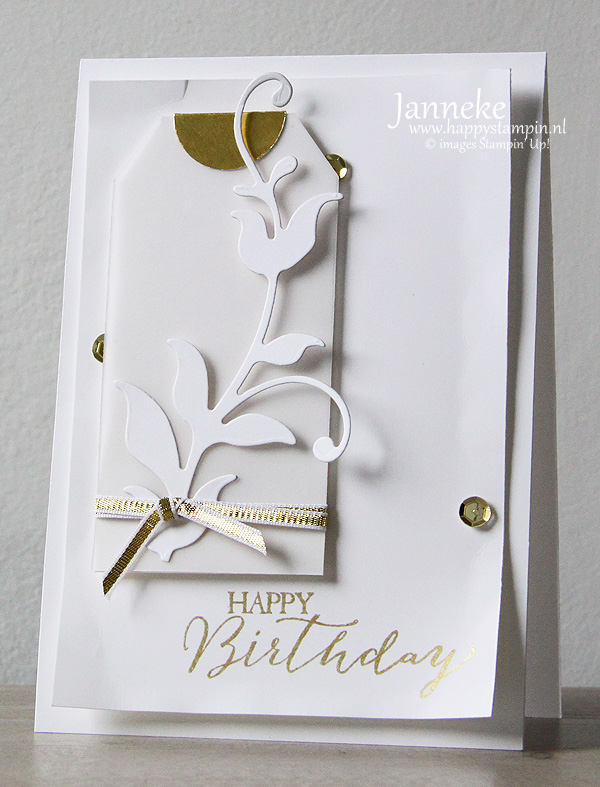 Stampin' Up! CAS on Sunday