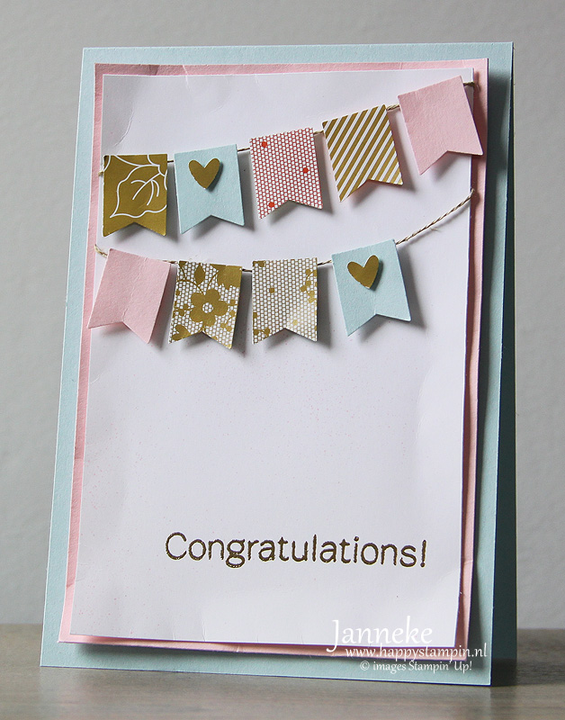Stampin' Up! Congratulations