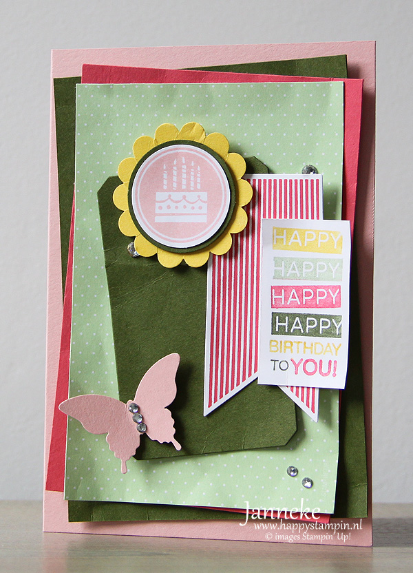 Stampin' Up! scrap online kaart