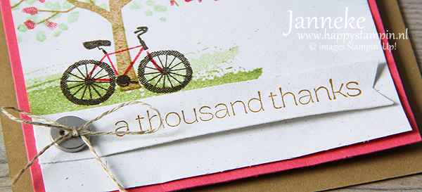 Stampin' Up! a thousand thanks