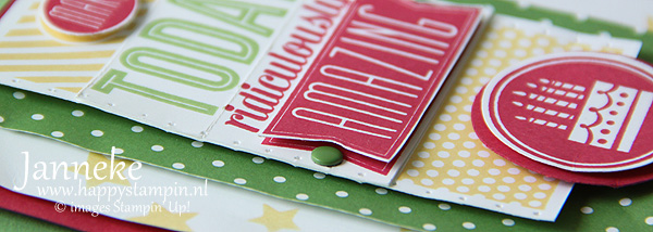 Stampin' Up! Make Today Ridiculously Amazing