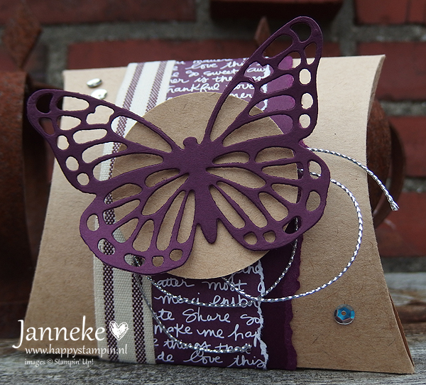 Stampin' Up! – Square Pillow Box