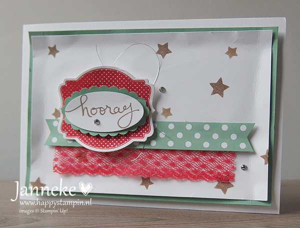 Stampin' Up! – Hooray