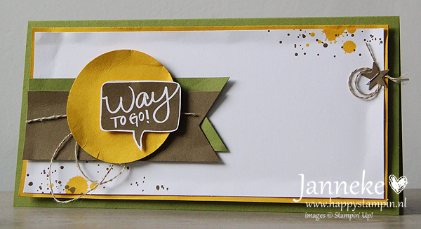Stampin' Up! – Way to Go!