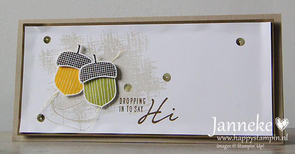 Stampin' Up! – Dropping in to say Hi