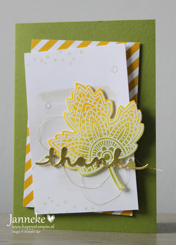 Stampin' Up! – Thanks