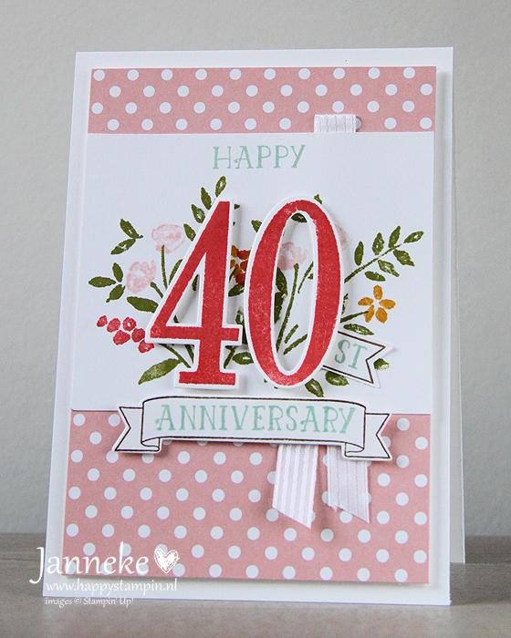 Stampin' Up! – Happy Anniversary