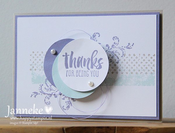 Stampin' Up – Thanks for being You