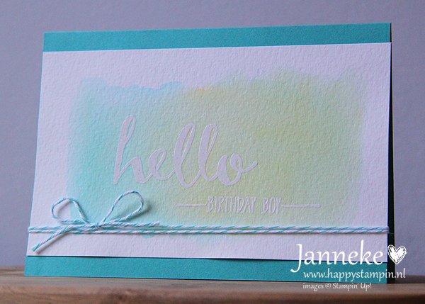 Stampin' Up! – You are Tea-riffic
