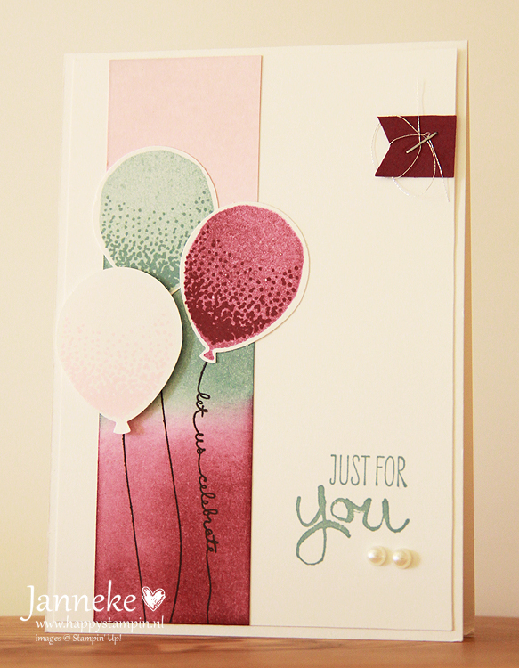 Stampin' Up! – GDP#023 Balloons