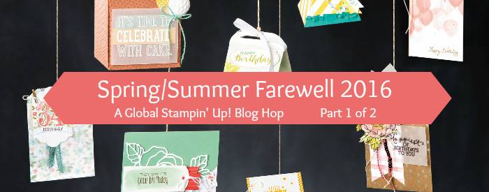 Spring & Summer Farewell Blog Hop