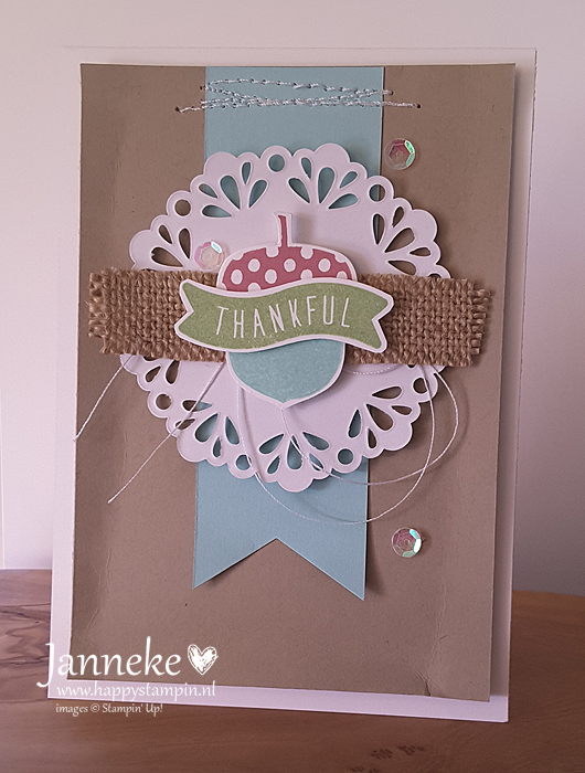 Stampin' Up! – Thankful