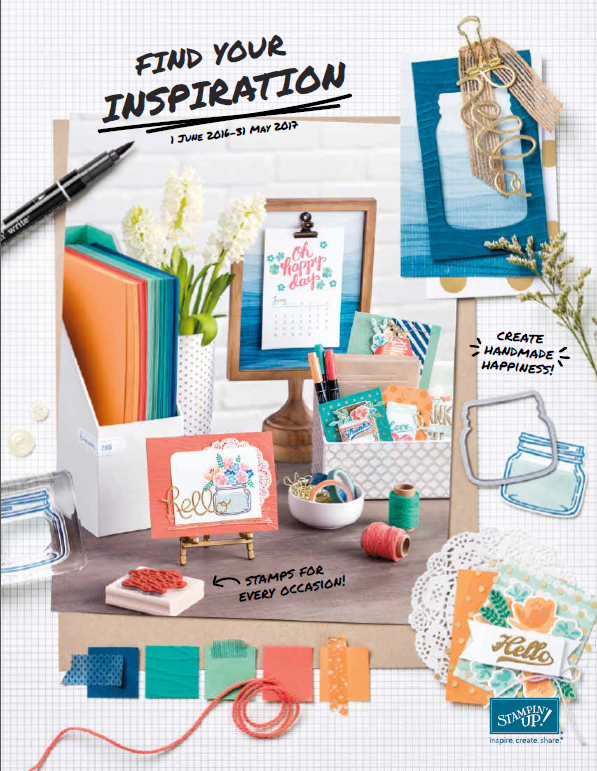Stampin' Up! – Nieuwe Catalogus & Share