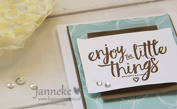 Stampin' Up! – Enjoy the little things