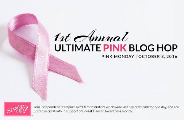Stampin' Up! – Ultimate Pink Blog Hop