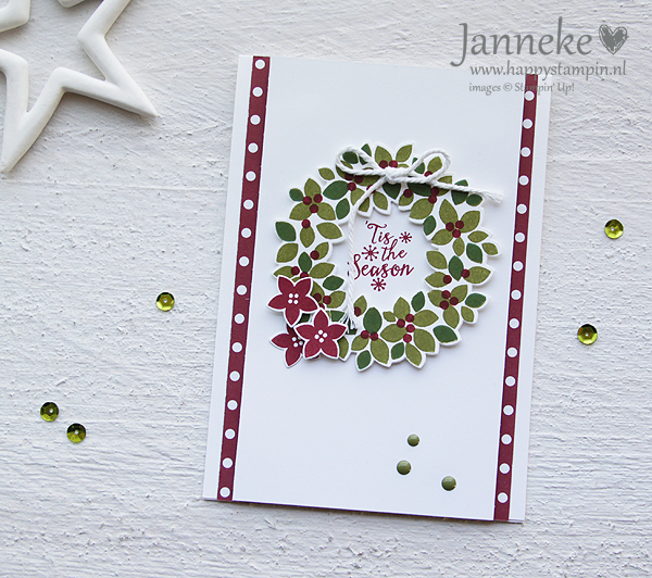Stampin' Up! – 'T is the Season met de Wondrous Wreath
