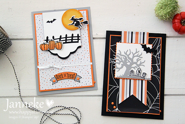 Stampin' Up! Trick or Treat met Spooky Fun
