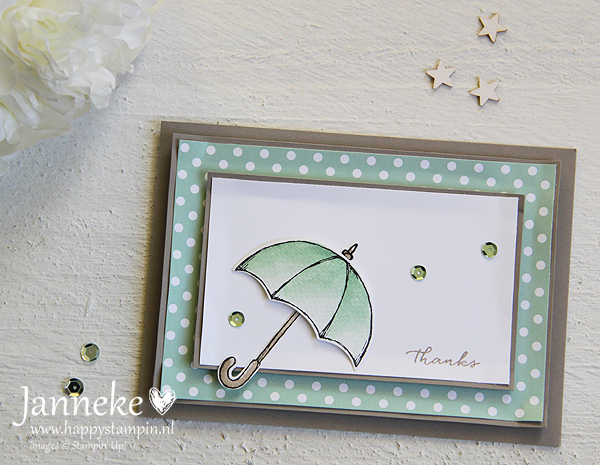 Stampin' Up! – Thanks met Weather Together