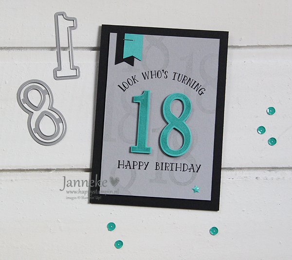 Stampin' Up! – Look who's turning 18