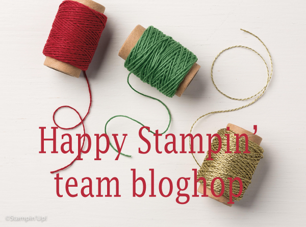 Stampin' Up! – Team bloghop