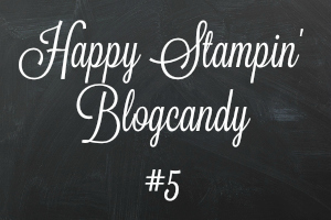 Stampin' Up! – Blog Candy #5