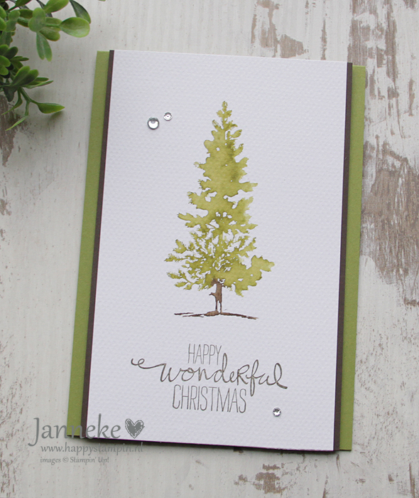 Stampin' Up! – Happy Wonderful Christmas