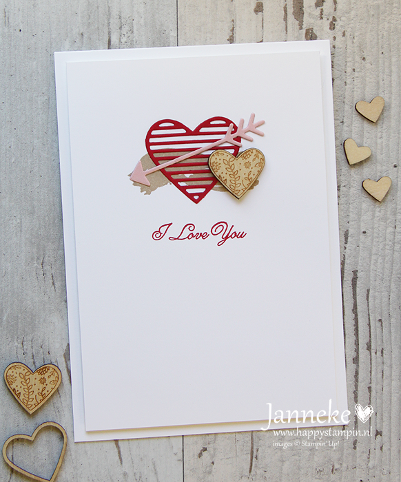 Stampin' Up! – I Love You