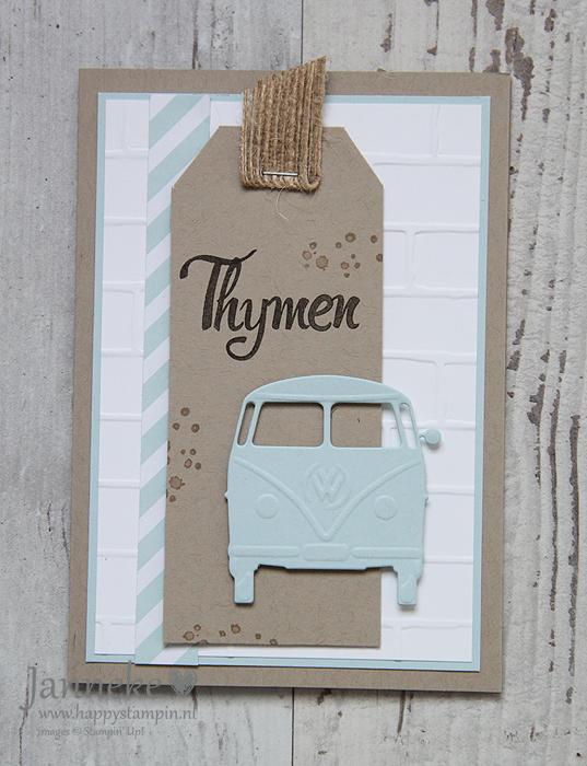 Stampin' Up! – Thymen