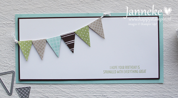 Stampin' Up! – Birthday card