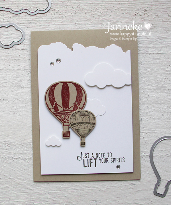 Stampin' Up! – Just a Note …