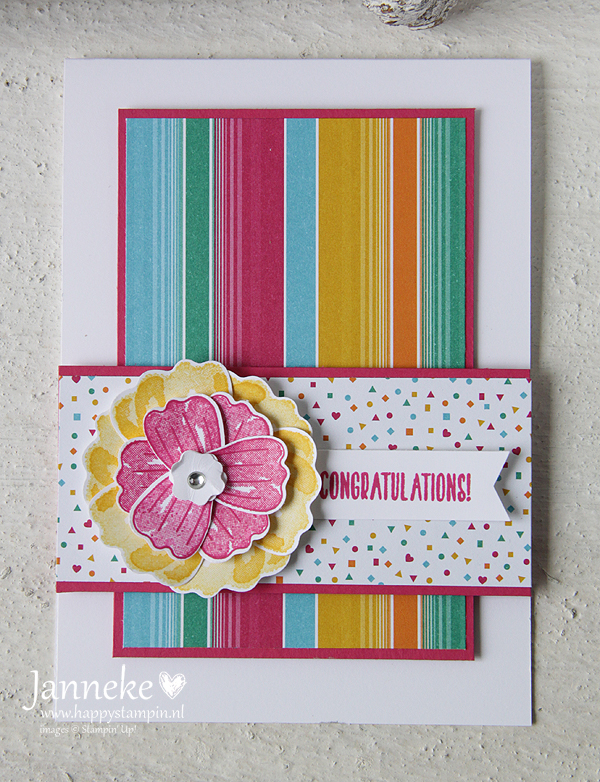 Happy Stampin' - Stampn' Up! - Congratulations