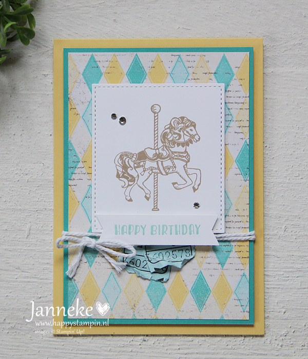 Stampin' Up! – Happy Birthday #GDP079