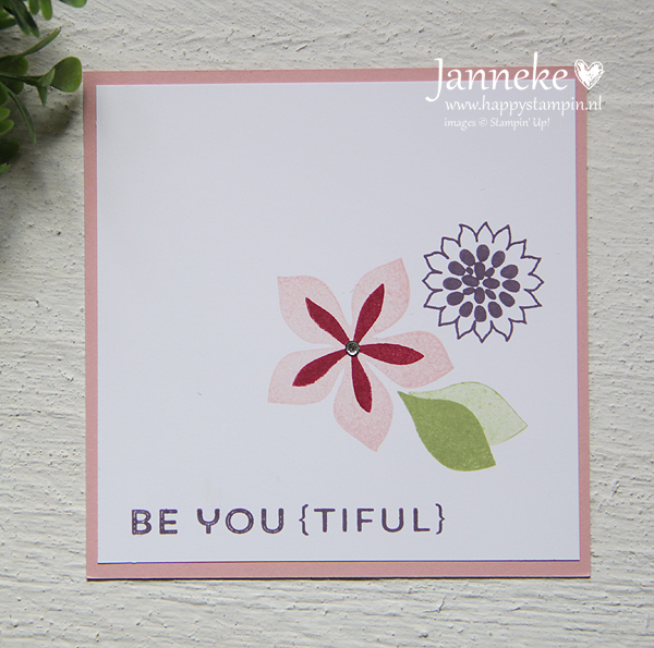Happy Stampin' - Stampin' Up! Be You {tiful}