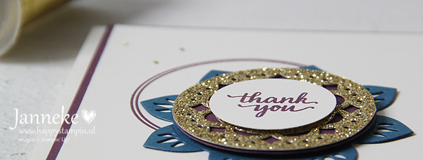 Happy Stampin' - Stampin' Up! - Thank You