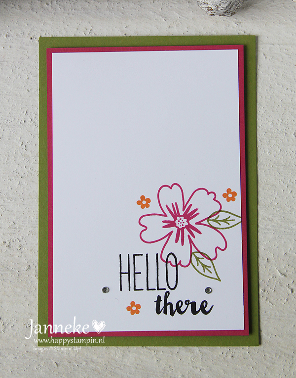 Happy Stampin' - Stampin' Up! Hello There