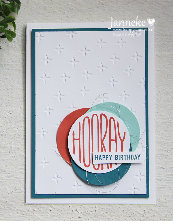 Stampin' Up! – Hooray #GDP084