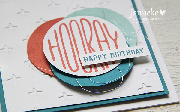 Happy Stampin' Stampin' Up! #GDP084