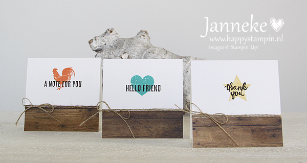 Happy Stampin' Stampin' Up! Wood Words Wood Crate