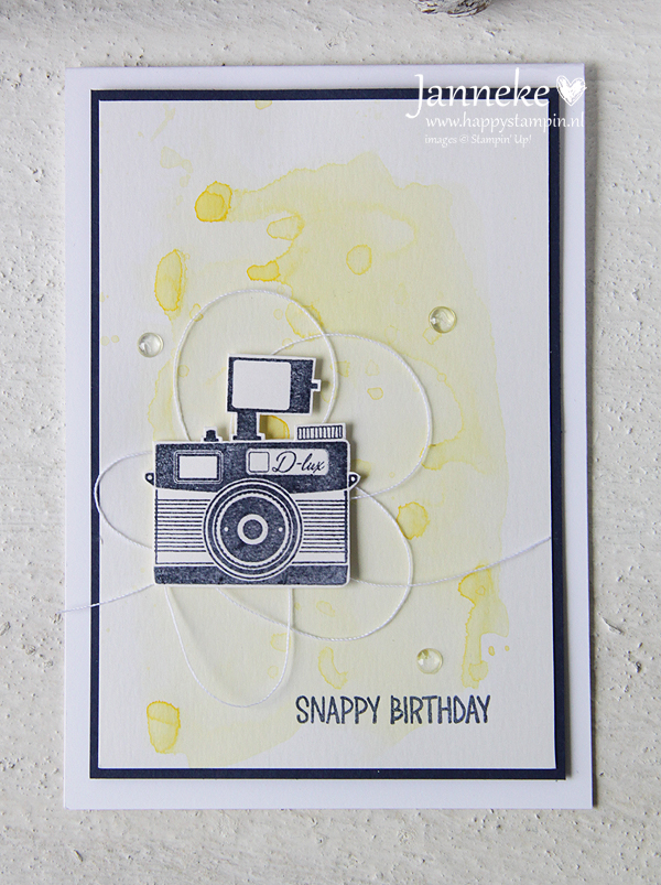 Stampin' Up! – Snappy Birthday #GDP081