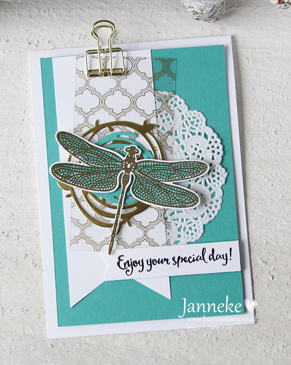 Happy Stampin' Stampin' Up! Dragonfly Dreams