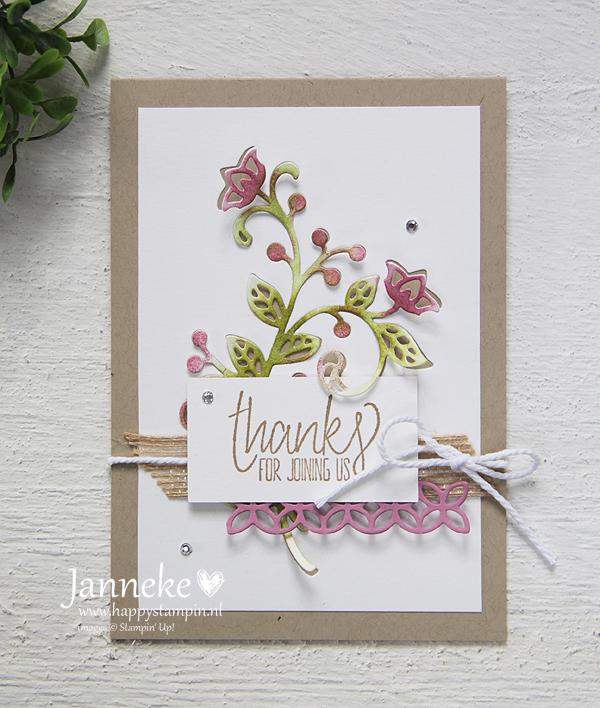 Happy Stampin' - Stampin' Up! Thanks