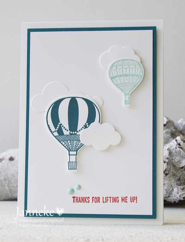 Happy Stampin' Stampin' Up! Lift me Up