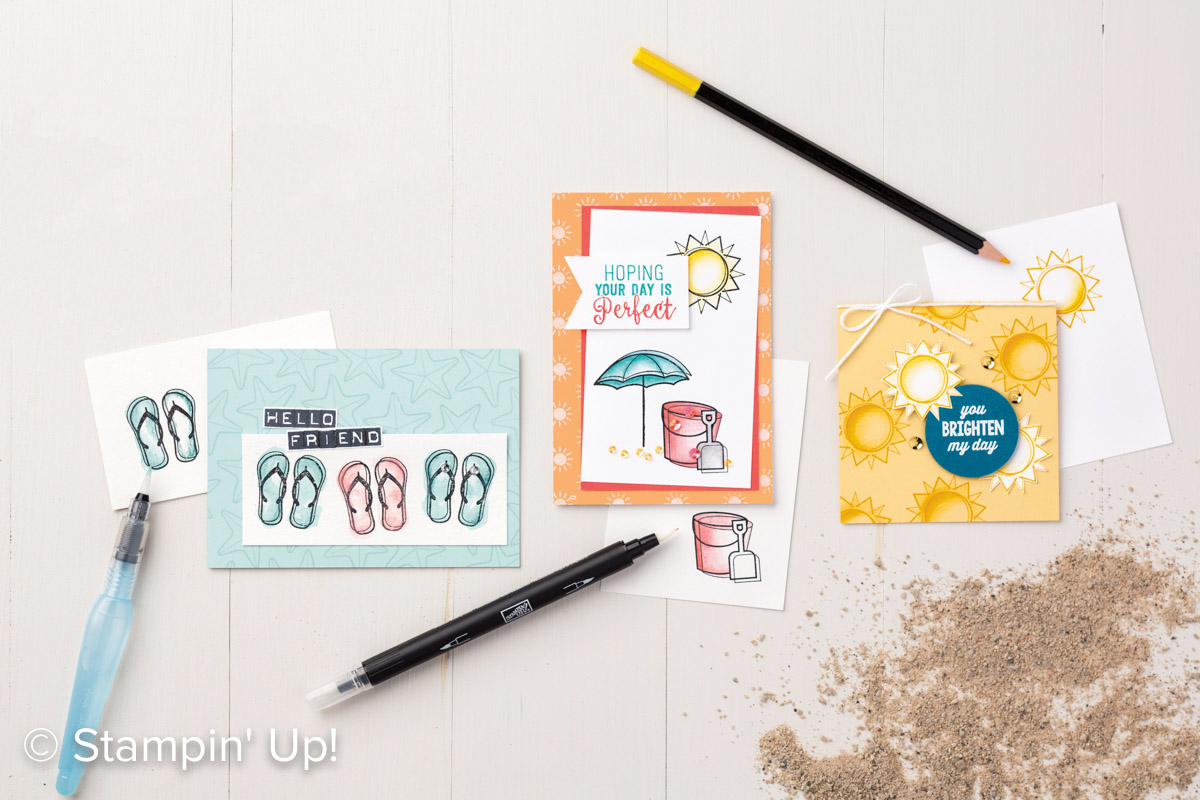 Stampin' Up! – Catalogus, Open Huis en In Color share ..